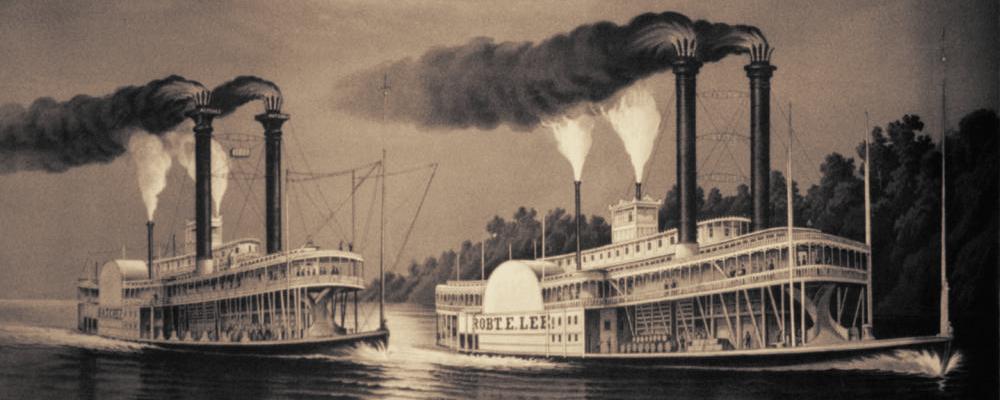 Famous Riverboat Race