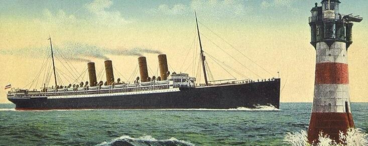 Schnelldampfer Kronprinz Wilhelm